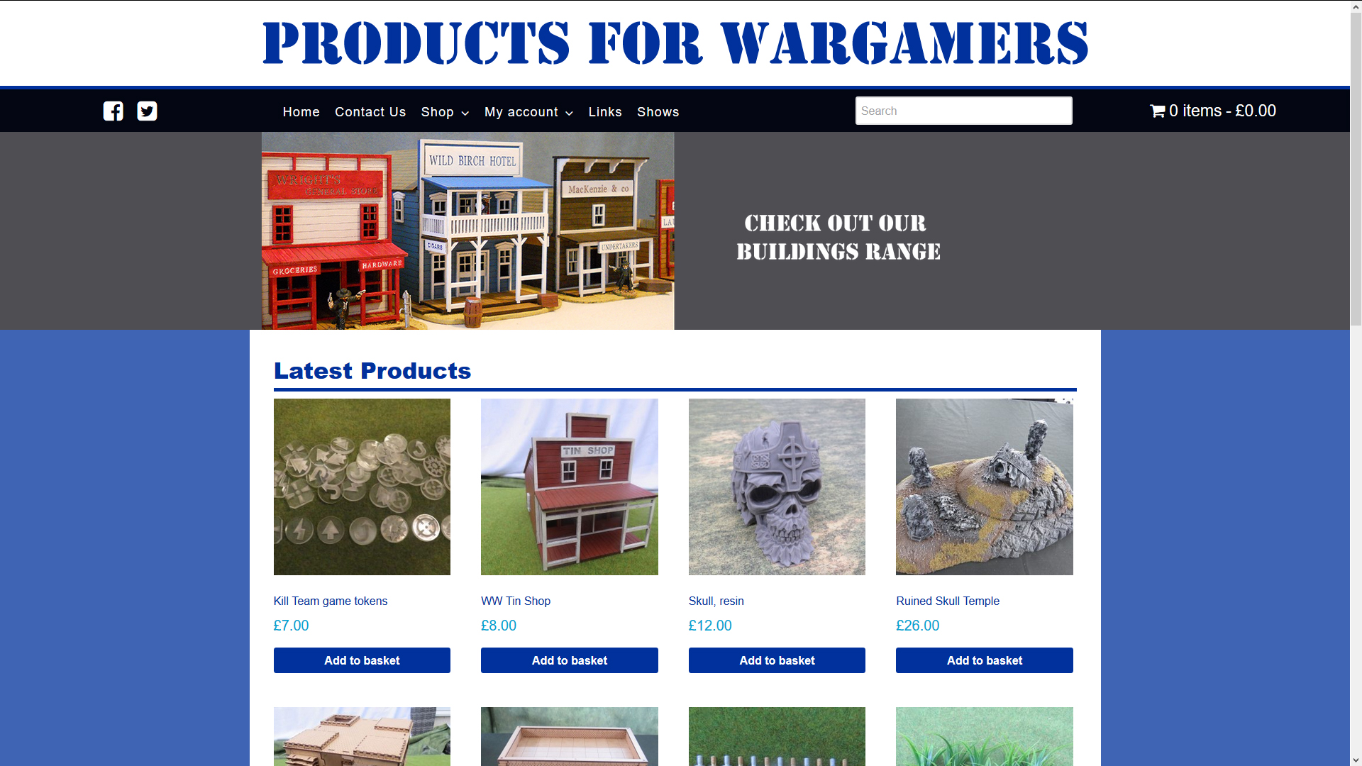 Products For Wargamers